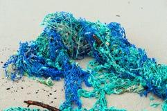 鱼的网络卷入了网,鳃渔网络 免版税图库摄影