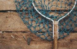 鱼码头净细节 免版税库存图片