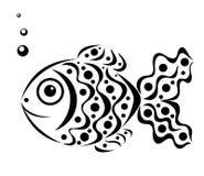 鱼装饰物 库存照片