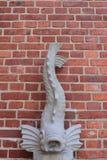 鱼雕塑 图库摄影
