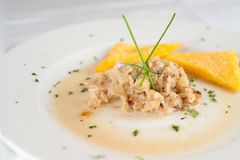 鱼食物意大利语 库存照片