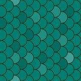 鱼鳞无缝的纹理向量 库存图片
