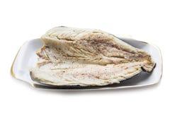 鱼,盐味的鲭鱼 免版税库存照片