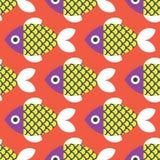 鱼仿造无缝 库存照片
