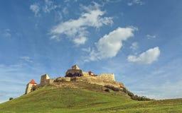 鲁佩亚城堡,罗马尼亚 库存图片