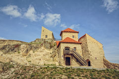 鲁佩亚城堡,罗马尼亚 免版税库存照片