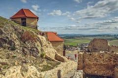 鲁佩亚城堡,罗马尼亚 库存照片