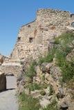 鲁佩亚1324,布拉索夫,特兰西瓦尼亚,罗马尼亚中世纪城堡  库存图片
