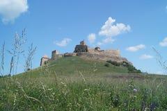 鲁佩亚1324,布拉索夫,特兰西瓦尼亚,罗马尼亚中世纪城堡  免版税库存图片