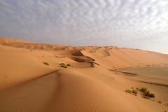 鲁卜哈利沙漠14 库存图片