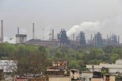 鲁吉拉钢铁厂  免版税库存照片