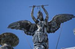 鲁塞艺术雕塑 免版税库存图片
