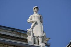 鲁塞艺术雕塑 免版税库存照片