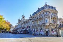 鲁塞,保加利亚- 2017年10月21日:鲁塞状态歌剧剧院 库存图片
