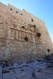 鲁宾逊的曲拱考古学公园,以色列 免版税库存照片