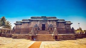 贝鲁尔Chennakeshava寺庙 库存照片