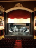鲁布林波兰剧院 库存照片