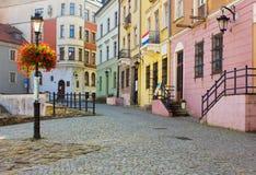 鲁布林老波兰城镇 免版税库存照片