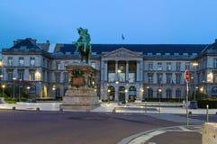 鲁昂城镇厅 法国 免版税库存图片