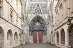 鲁昂大教堂 免版税图库摄影