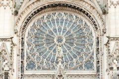 鲁昂大教堂 库存图片