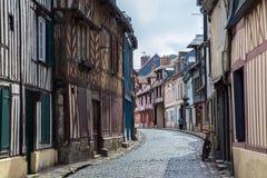 鲁昂,法国 库存照片