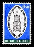 鲁汶大学, serie,大约1975年 免版税图库摄影