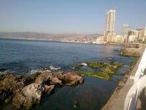 贝鲁特市 免版税库存图片