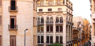 贝鲁特街市黎巴嫩 免版税图库摄影