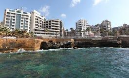 贝鲁特(黎巴嫩) 免版税库存图片