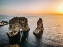 贝鲁特黎巴嫩 库存照片