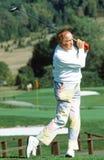 鲍勃・霍普打高尔夫球 图库摄影