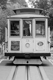 鲍威尔海德线缆车在旧金山,加州 免版税库存照片