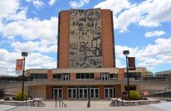 鲍林格林州立大学热罗姆图书馆 库存图片