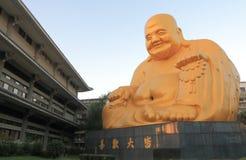 鲍矍寺庙台中台湾 库存图片
