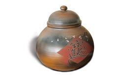 鲍茶罐 免版税图库摄影