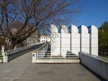 鲍豪斯建筑学派档案在柏林 免版税库存照片