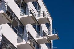 鲍豪斯建筑学派Dessau residental家 库存照片