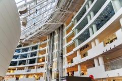 鲍里斯・叶利钦总统中心是社会,文化和教育中心在叶卡捷琳堡 俄国 免版税库存照片