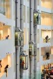 鲍里斯・叶利钦总统中心是社会,文化和教育中心在叶卡捷琳堡 俄国 免版税图库摄影
