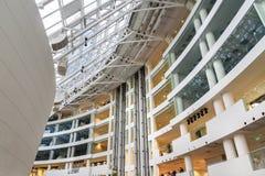 鲍里斯・叶利钦总统中心是社会,文化和教育中心在叶卡捷琳堡 俄国 库存照片