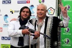 鲍里斯moiseyev流行音乐明星 免版税图库摄影