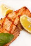 鲑鱼排 免版税库存照片