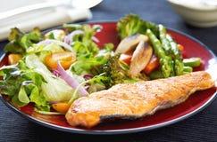 鲑鱼排 免版税库存图片