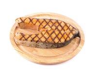 鲑鱼排 库存图片