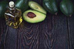 鲕梨的油 免版税库存照片