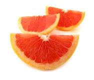 鲜红色的葡萄柚 库存照片