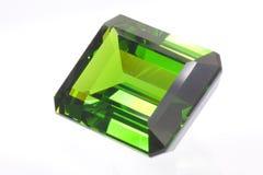 鲜绿色宝石 免版税图库摄影