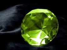 鲜绿色珠宝 库存图片