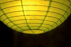鲜绿色的灯笼 免版税库存照片